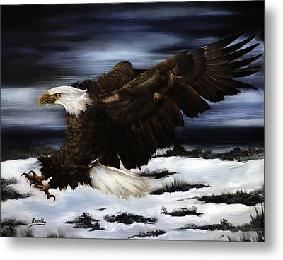 Cold Attack Metal Print by Jamil Alkhoury