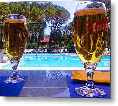 Metal Print featuring the photograph Cold Beers by Giuseppe Epifani