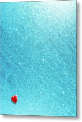 Cold Cold Heart Metal Print by Cristophers Dream Artistry