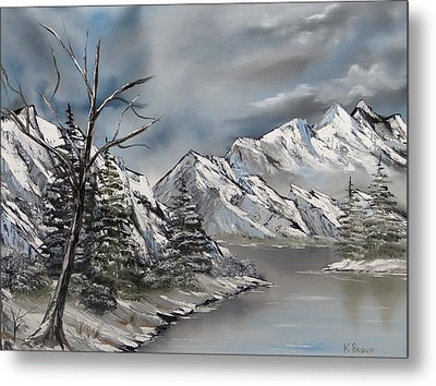 Cold Day Metal Print by Kevin  Brown