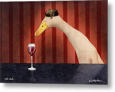 Cold Duck... Metal Print by Will Bullas