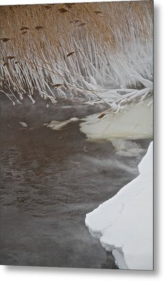 Cold Fills The Void Metal Print by Odd Jeppesen