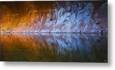Cold Fire Metal Print by Peter Coskun