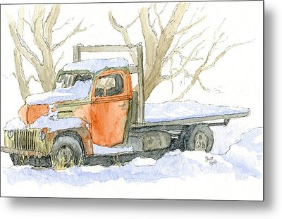 Cold Ford Metal Print