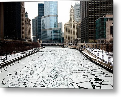 Cold In Color Metal Print by Joanna Madloch