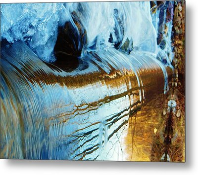 Cold Meets Warm Metal Print by Sharon Costa