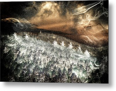 Cold Mountain Metal Print by Tom Culver