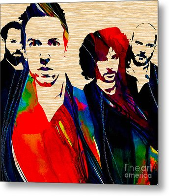 Coldplay Collection Metal Print by Marvin Blaine