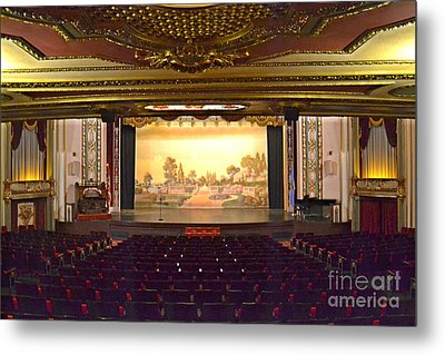 Metal Print featuring the photograph Coleman Theatre by Utopia Concepts