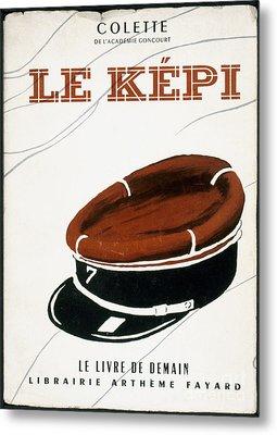 Colette: Le Kepi Metal Print
