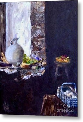 Colette's Country Kitchen Metal Print by Kathleen Farmer