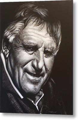 Colin Meads Metal Print by Bruce McLachlan