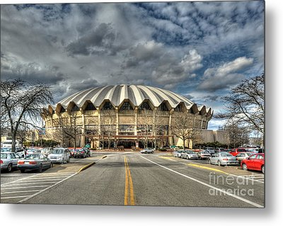 Coliseum Daylight Hdr Metal Print by Dan Friend