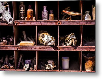 Collection At Techatticup Gold Mine Metal Print