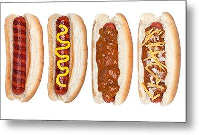 Collection Of Hotdogs Metal Print by Joe Belanger