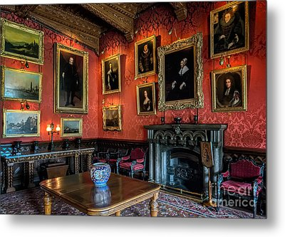 Collection Of Paintings Metal Print by Adrian Evans
