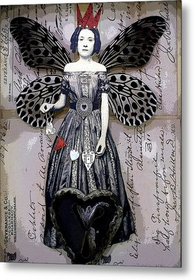 Collector Of Hearts Metal Print by Stephanie Rubiano