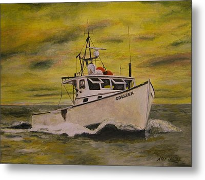 Metal Print featuring the painting Colleen by Stan Tenney