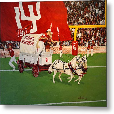 College Football In America Metal Print