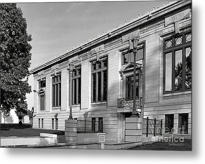 College Of Wooster Timken Science Library Metal Print by University Icons