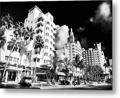 Collins Avenue Metal Print