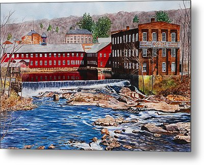 Collinsville Axe Factory Metal Print by Sharon Farber