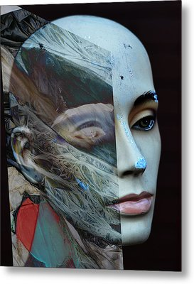 Collision Intended  Metal Print by Empty Wall