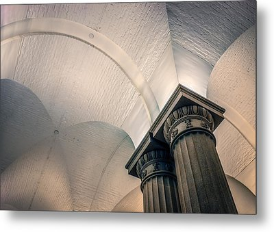 Metal Print featuring the photograph Columns by Rob Sellers