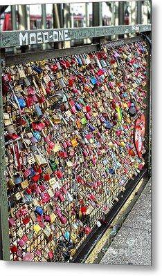 Cologne - Hohenzollern Bridge - Gypsy Locks - 02 Metal Print by Gregory Dyer