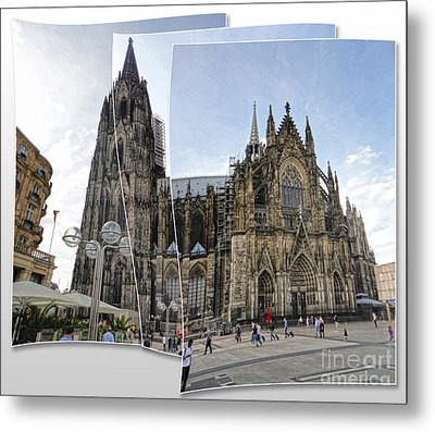 Cologne Germany - High Cathedral Of St. Peter - 03 Metal Print by Gregory Dyer