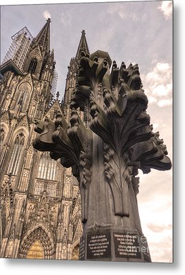 Cologne Germany - High Cathedral Of St. Peter - 08 Metal Print by Gregory Dyer