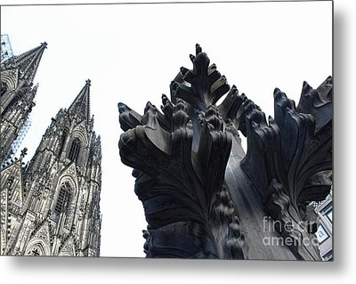 Cologne Germany - High Cathedral Of St. Peter - 09 Metal Print by Gregory Dyer