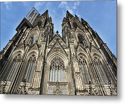 Cologne Germany - High Cathedral Of St. Peter - 16 Metal Print by Gregory Dyer