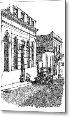 Old Ford On Colonia Uruguay Metal Print by Pablo Franchi