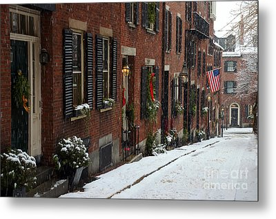 Boston Proper Metal Print by Stephen Flint
