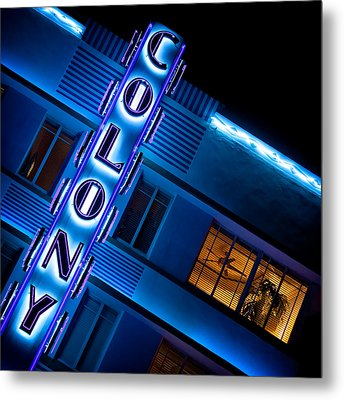 Colony Hotel 1 Metal Print by Dave Bowman