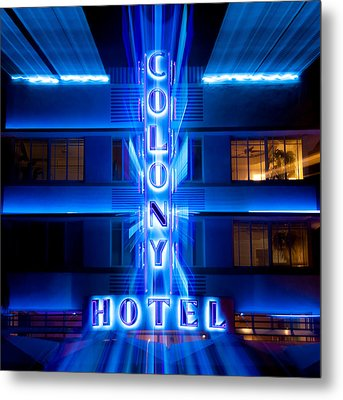 Colony Hotel 2 Metal Print by Dave Bowman