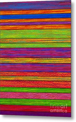 Color And Texture Metal Print by David K Small