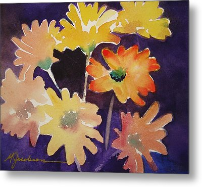 Metal Print featuring the painting Color And Whimsy by Marilyn Jacobson