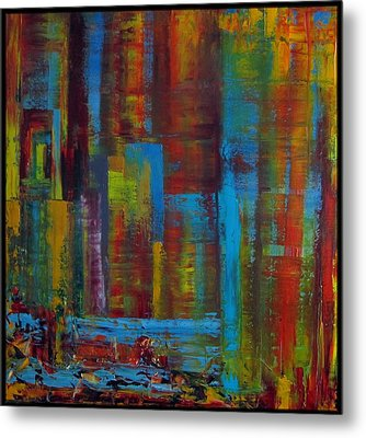 Color Burst Metal Print by Katia Aho