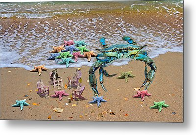 Color Creations Metal Print by Betsy Knapp