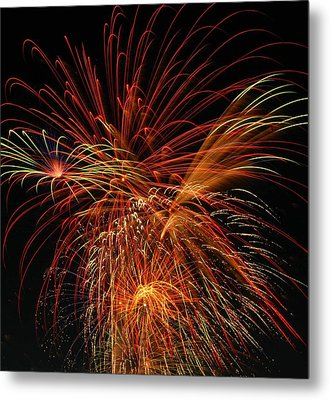 Color Design Metal Print by Optical Playground By MP Ray