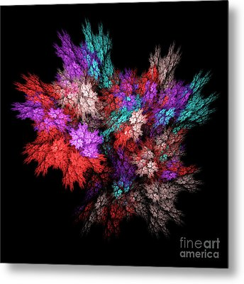 Color Explosion Metal Print