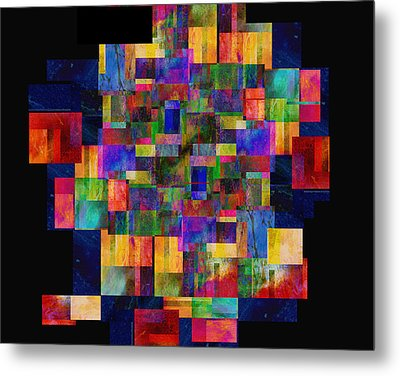 Color Fantasy - Abstract - Art Metal Print by Ann Powell