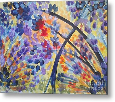 Color Flurry Metal Print by Holly Carmichael