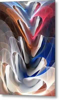 Color Fold Metal Print by Anastasiya Malakhova