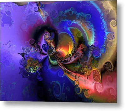 Color Gone Amok Metal Print