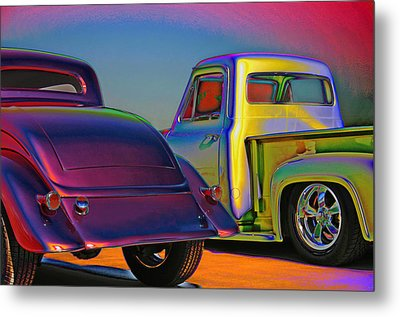 Metal Print featuring the photograph Color Me A Hot Rod by Christopher McKenzie
