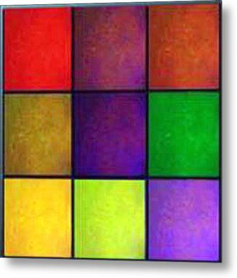 Color Me Happy Metal Print
