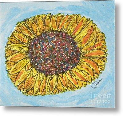 Color Me Sunshine Metal Print by Marcia Weller-Wenbert